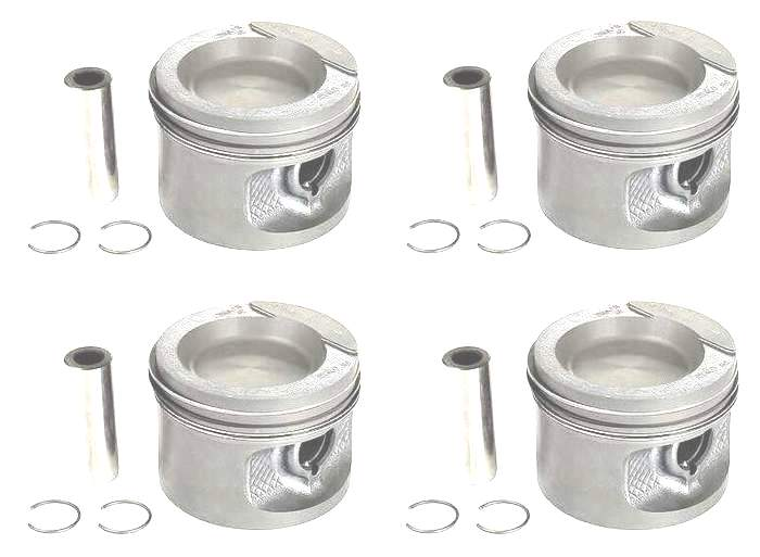 Piston Set 1.8 8v 81.5mm 9-1 CR (+.5mm oversized)
