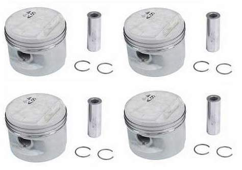Piston Set 16v 1.8L 81.5mm 10-1 German (.5mm oversize)
