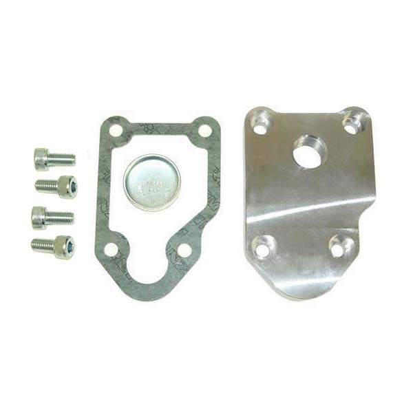 "Breather Plate with 1/2"" NPT for Audi 80, 1.8L 16V & Early 9A"