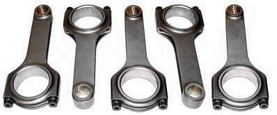 Race H Beam Forged Connecting Rod Set 144mm, 20mm Wrist Pin (set of 5)