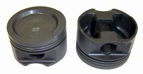 Forged Piston Set 83.5mm 2.0L ABA/2E 8v 10.6-1CR