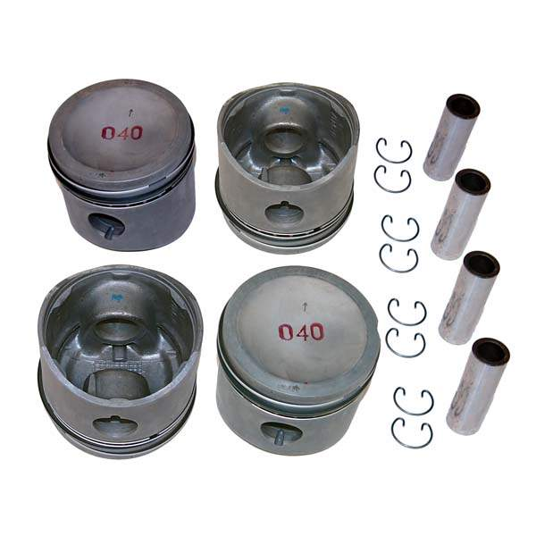 Piston Set 1.6L 8v 80.5mm 8.2-1 CR (1mm oversize)