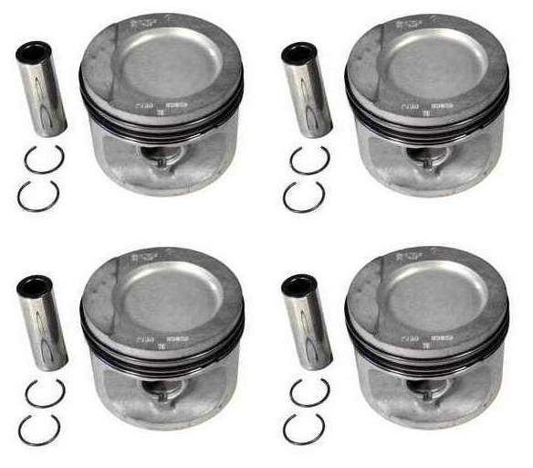 Piston Set 1.8 8v 81.5mm 10-1CR (+.5mm oversized) German