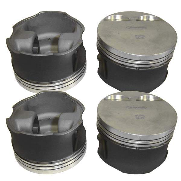 Piston Set 16v 2.0L 83mm 10.5-1 CR (Forged)