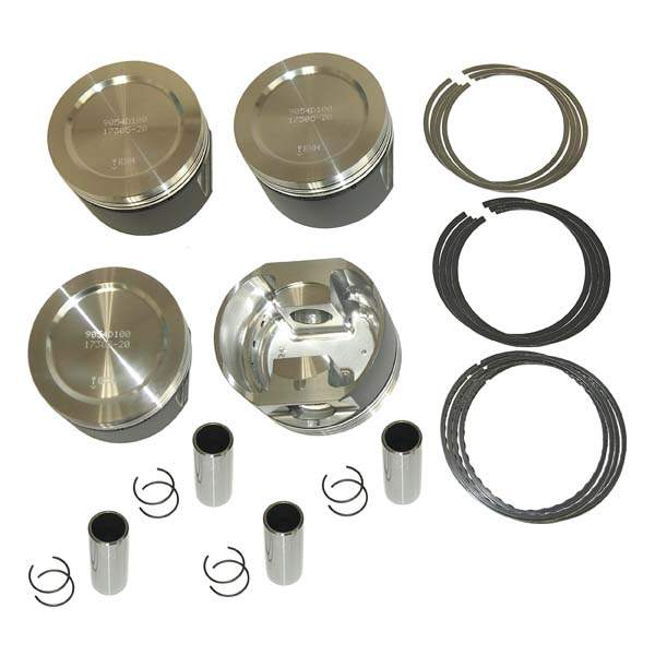 Wossner Forged ABA/2E 2.0L 8v 84mm 12.3-1 Piston Set
