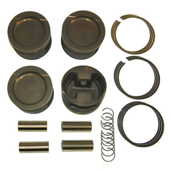 Forged Turbo/Supercharged Big Bore Piston Set 1.8L 8v 83mm