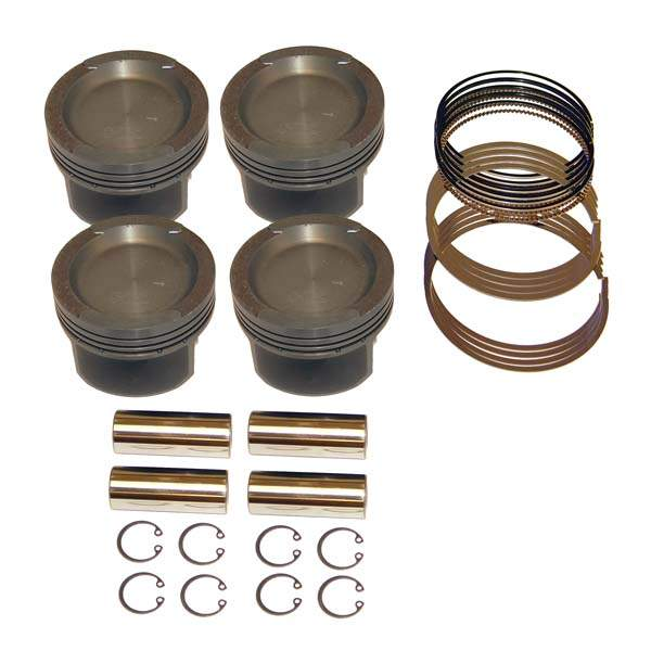 Cast Piston Set 83.5mm 2.0L ABA 8v 10:1 CR