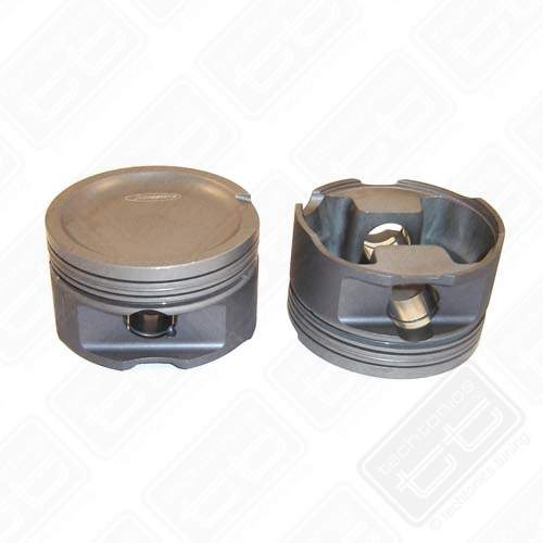 Forged Piston Set 82.5mm for 1.8T w/92.8mm Crank 9-1 Compression
