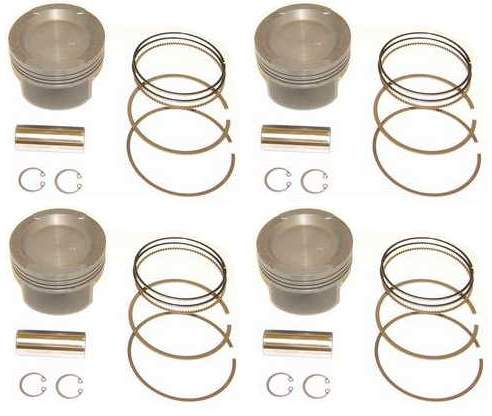 Cast Piston Set 83mm 2.0L ABA 8v 10-1CR