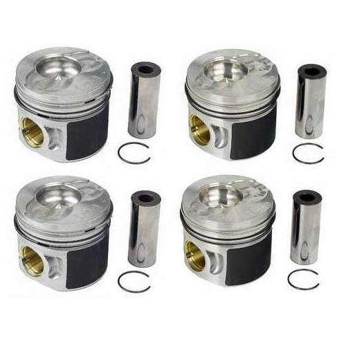 Piston Set (80mm for ALH 1.9L TDI ('97 AHU) .5mm Overbore