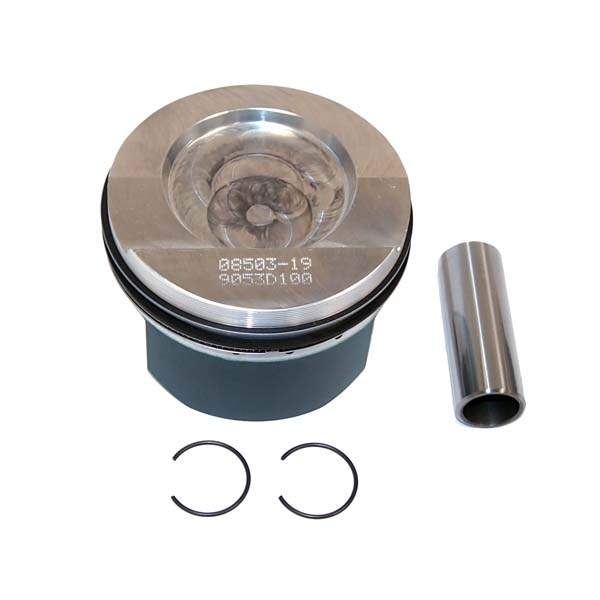 Forged Piston Set 11-1 Comp. Ratio 12v VR6 2.8L/2.9L (82mm)