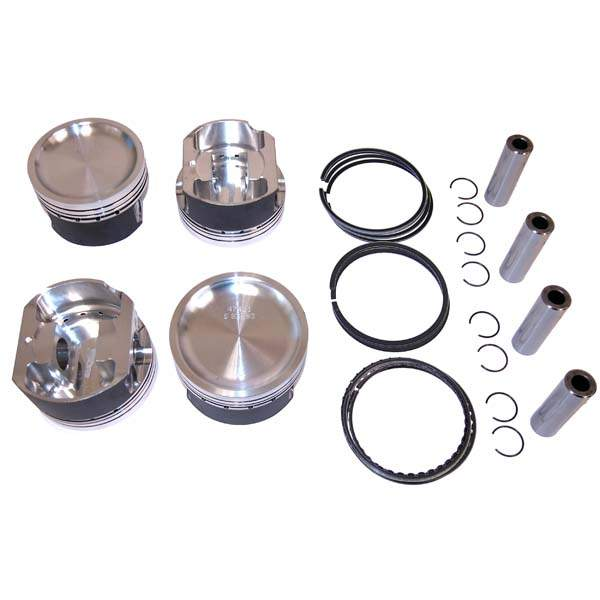 Wossner Forged 2.0T TSI Piston Set 82.5mm 9.2-1 CR (STD)