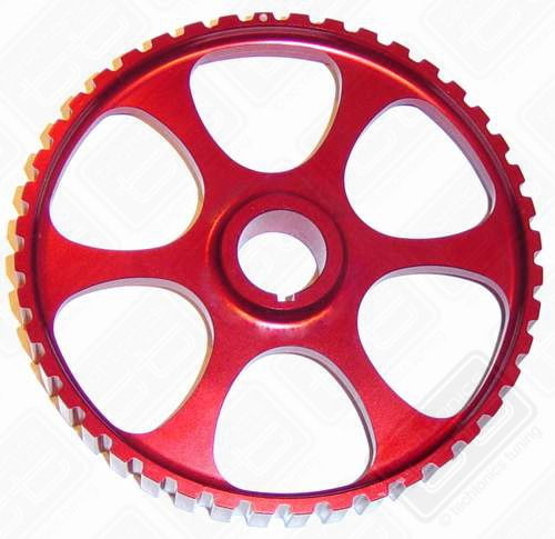 Red Lightweight Aluminum Cam/Intermediate Sprocket 8v/10v