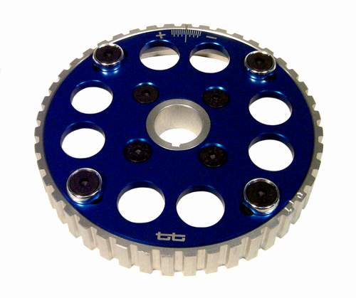 TT Light-weight Aluminum Adjustable Camshaft Sprocket 8v Blue