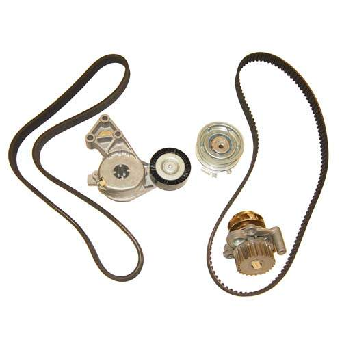 Deluxe 2.0L 8v Timing Belt Kit with Water pump