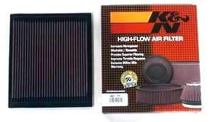 K&N Air Filter Audi A4 1.8t/2.0t and 3.0L V6 Air Filter '02-'08