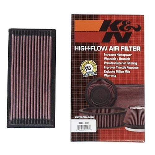 K&N Air Filter, Rabbit FI, All Scirocco, Jetta1, Cabriolet, Fox