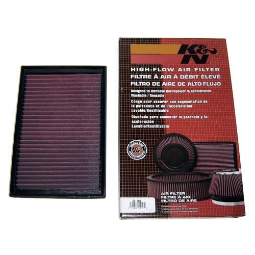 K&N Air Filter, Passat VR6 3.2L-3.6L and 3.2L EOS & Audi 3.2L A3