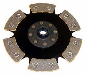 210mm Street/Race Disc (6 Puck+Rigid Hub) 8v 1.8L '83-'93