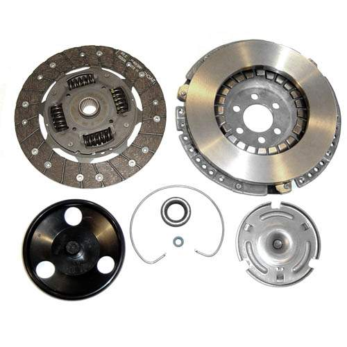 210mm Sachs Clutch Kit 03/'94-early'99 Mk3 2.0L & '95-'02 Cabrio
