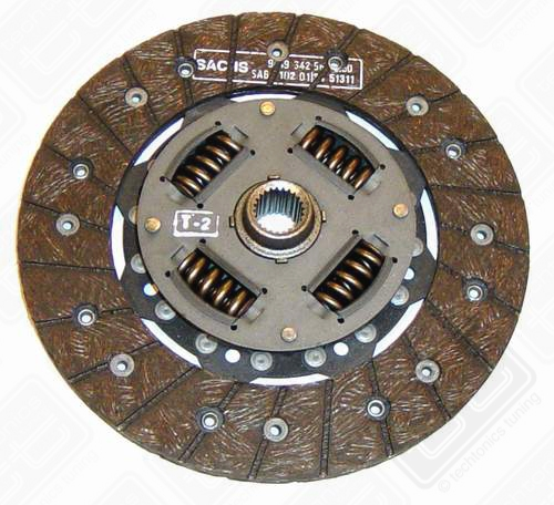 Sachs 210mm Clutch Disc (1987-1993 Fox)