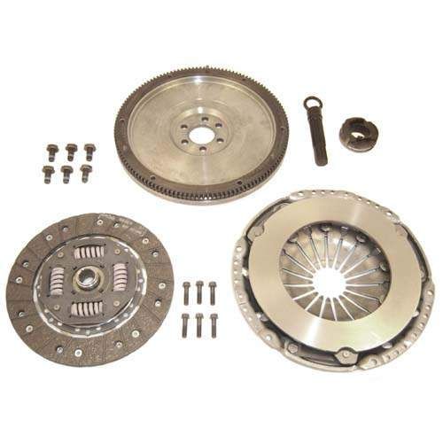 228mm Clutch Kit w/ Single Mass Flywheel-5 Speed 1.8T and TDI