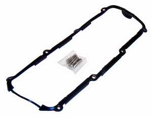 8v Rubber Valve Cover Gasket Kit with Studs '76-'93