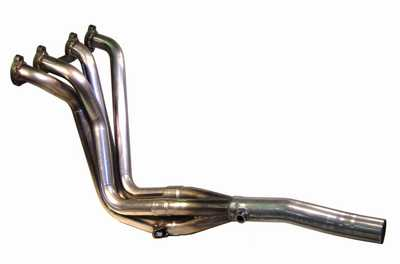 TT 4-1 Race Headers Mk1 8V TALL BLOCK, 1 5/8""