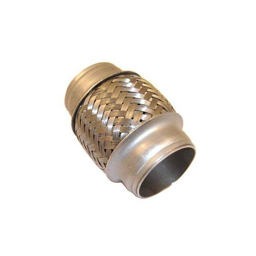 "Stainless Steel Flex Joint 2"" ID, 4"" Long"