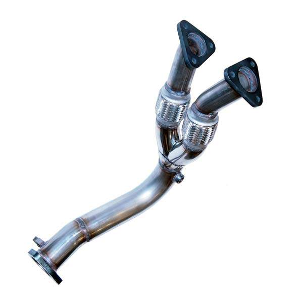 Mk1 Stainless Downpipe for 12V VR6 Conversion