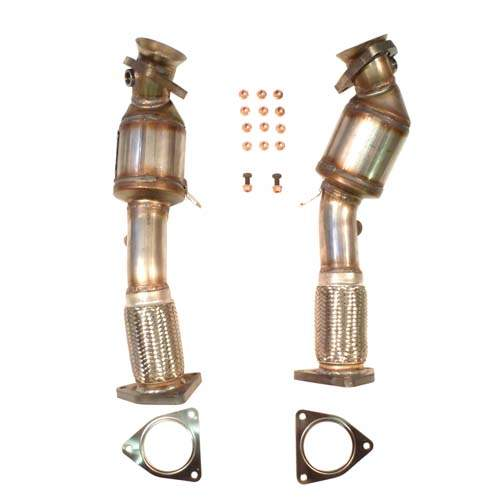 Touareg V8 Cat Downpipes '03-'07, High Flow