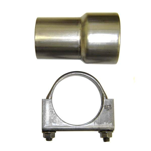 Adapter to connect 251 234 downpipe to the std. exhaust or tt ex