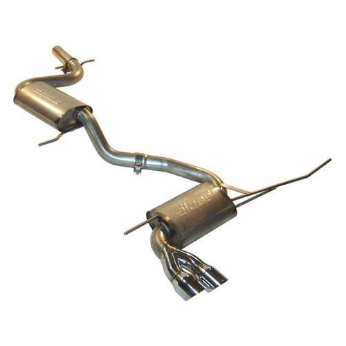 Audi A3 2.0T Stainless Steel Exhaust with Dual Borla Mufflers