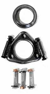 Mk2/Mk3 Dual Downpipe Large Cat Flange Repair Kit w/hardware