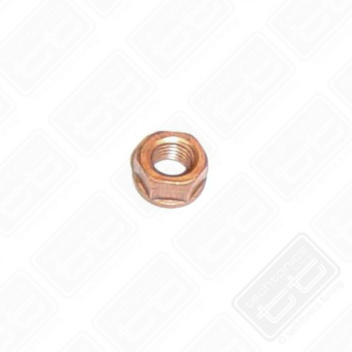 10mm Copper Plated Locking Exhaust Nut