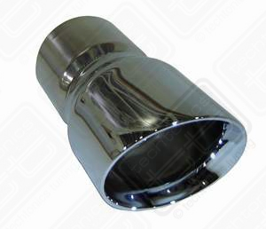 "Stainless Single Angle 3"", fits 2.5"" pipe"