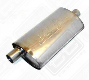 "Borla Stainless Muffler Center/Offset 2"" Mk1 & Fox"