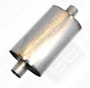"Borla Stainless Muffler Center/Center 2.25"" Mk1-Mk4"