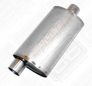 "Borla Stainless Muffler Center/Offset 2.5"" Mk3, Passat VR6"