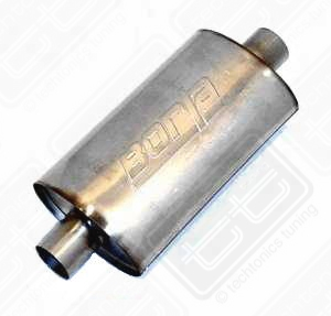 Borla Stainless Muffler Center/Center 2.5""