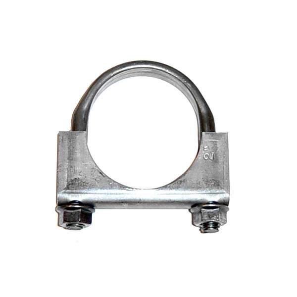 Mild Steel Exhaust Clamp 2""