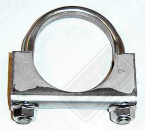 Stainless Steel Exhaust Clamp 2""