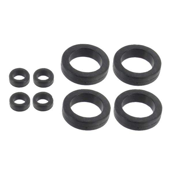 Fuel Injector Seal Kit-Upper & Lower Seals for 4 Injectors