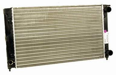 New Radiator Mk1/Mk2 Non A/C 525mm Pin Mount No Filler Neck