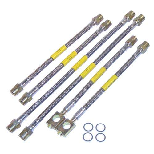 DOT Kevlar Stainless Steel Brake Lines, Passat 1998-1999
