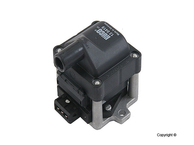 2.0L/VR6 Ignition Coil '93-early'99 2.0L, '92-'93 VR6 w/Dist)