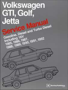 Bentley Manual (1985-1992 Golf and Jetta)