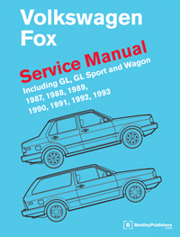 Bentley Manual \'87-\'93 VW Fox