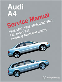 Bentley Manual \'96-\'01 Audi A4