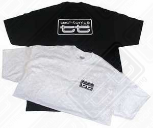 TT T-Shirt (Black w/White Print) - XL